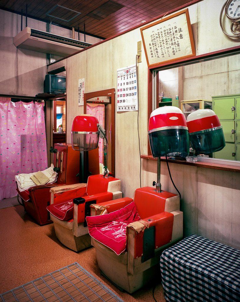 140911銭湯常磐湯脱衣場(女湯)三重県熊野市